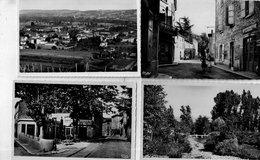 """SAINT UZE """" LOT DE 7 CARTES En 9x 13 - Other Municipalities"""