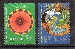 Serie De Ecuador N ºYvert 1806/07 ** UPAEP - Ecuador