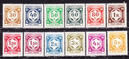 Germania-Protettorato Boemia E Moravia 1941 Servizi  Serie Completa Nuova MLLH - Allemagne