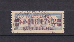 DDR - 1958 - Dienstmarken B - Michel Nr. 21 M II - Dienstpost