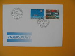 FDC Luxembourg   1988  -  Lot De  10   FDC  à Voir - FDC