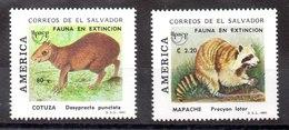 Serie De El Salvador N ºYvert 1178/79 ** UPAE - El Salvador