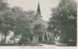 Typical Chapel - Reception Center Possibly In Virginia Written By A Private  1943 First Message Home - War 1939-45