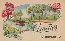 SUBLIGNY - AMITIES DE SUBLIGNY - France