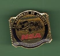 AUTOMOBILES *** NSA LA NATIONALE DE SERVICES *** 1020 - Badges