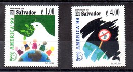 Serie De El Salvador N ºYvert 1427/28 ** UPAEP - El Salvador