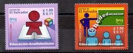 Serie De El Salvador N ºYvert 1519/20 ** UPAEP - El Salvador