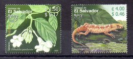Serie De El Salvador N ºYvert 1559/60 ** UPAEP - El Salvador