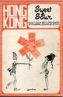 LIVRE DE DESSINS HUMORISTIQUES DE ZABO DEDICACE PAR L'AUTEUR.DE PLUS DE 80 PAGES EN 1979. HONG KONG SWEET & SOUR - Livres, BD, Revues