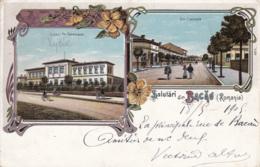 Old Postcard Bacau Litho - Romania