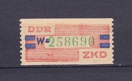 DDR - 1959 - Dienstmarken B - Michel Nr. 27 W - 15 Euro - Dienstpost