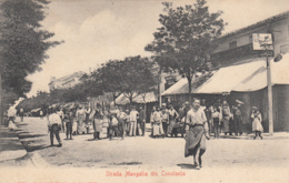 Old Postcard Strada Mangalia Constanta - Romania