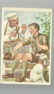**1 X SCOUTISME - Illustrateur : MARTON  L.   - - Scoutisme