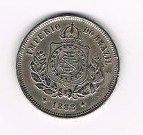 //   BRAZILIE  100  REIS  1888 - Brésil