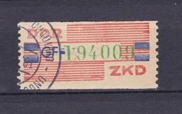 DDR - 1959 - Dienstmarken B - Michel Nr. 27 GF - 25 Euro - Dienstpost