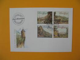 FDC Luxembourg   1990 -  Lot De  8   FDC  à Voir - FDC