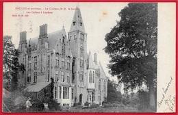 En L'état CPA Belgique Belgie BRUGES Et Environs BRUGGE Le Château De M. Le Baron Van Caloen à LOPHEM - Brugge