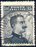 1909  MICHETTI N.86 VARIETA' DOPPIA DENTELLATURA (?) USATO - DOUBLE PERFORATION (?) USED - Usati