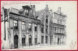CPA Belgique Belgie BRUGES BRUGGE - Rue Neuve, Façade Du XVIIIe Siècle...° Albert Sugg - Brugge