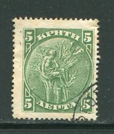 CRETE- Y&T N°25- Oblitéré - Kreta