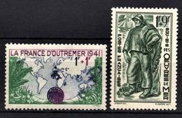 FRANCE 1941 - Y.T. N° 503 / 504  - 2TP NEUFS** - Francia
