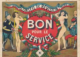 CONSEIL DE REVISION - BON POUR LE SERVICE - Documents