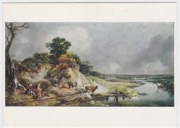 Postcard Painting Of Thomas Gainsborough - Mint  (G100-32) - Paintings