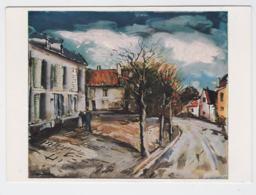 Postcard Painting Of Maurice De Vlaminck - Mint  (G100-32) - Paintings