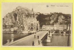 * Dinant (Namur - Namen - La Wallonie) * (Nels, Ern Thill) Pont, Citadelle Et église, Canal, Quai, Bridge, Brug - Dinant