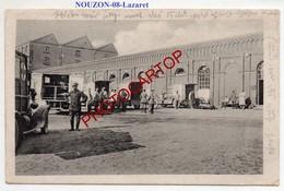 NOUZON-Lazaret-Ambulances-CARTE Allemande-GUERRE 14-18-1WK-France-08-Feldpost-CACHET-!- - Autres Communes