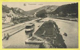 * Anseremme (Dinant - Namur - La Wallonie) * (Nels, Ern Thill) Vallée De La Meuse, écluse, Sluis, Bateau, Boat, Quai - Dinant