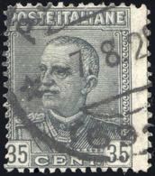 "1929  PARMEGGIANI N.241a VARIETA' ""DENTELLATURA SPOSTATA A SINISTRA"" USATO - VARIETY ""SHIFTED PERFORATION"" USED - Usati"