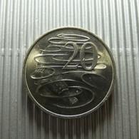 Australia 20 Cents 1980 - Monnaie Décimale (1966-...)