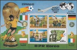 1982Korea, North2272-73/B1241982 World Championship On Football Of Spain12,00 € - 1982 – Espagne