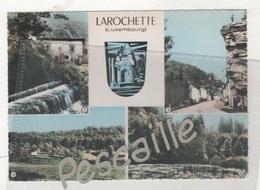 G. D. DE LUXEMBOURG - CP COLORISEE 4 VUES + BLASON LAROCHETTE - CIM - Larochette