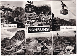 Schruns - Hochjochbahn - Berstation Kapell, Mittelstation Kropfen, Wormser Hütte, Drei Türme, Schwarzsee - Schruns
