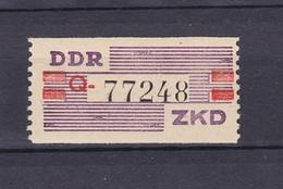 DDR - 1960 - Dienstmarken B - Michel Nr. IV Q - Dienstpost