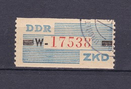 DDR - 1960 - Dienstmarken B - Michel Nr. III W - 60 Euro - Dienstpost