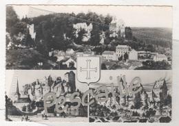 G. D. DE LUXEMBOURG - CP 3 VUES + BLASON LAROCHETTE - SANS NOM D'EDITEUR - Larochette