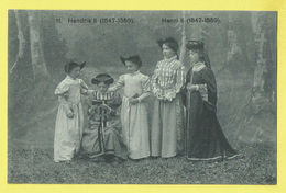 * Gent - Gand (Oost Vlaanderen) * (Nels, Nr 11) Cortège D'enfants, Stoet 4 September 1910, Costume Féminin, Henri II - Gent