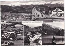 Knittelfeld Und Umgebung: Kapuzinerplatz, Seckau, Rachau, Ingeringsee, Totale - (1962) - Knittelfeld