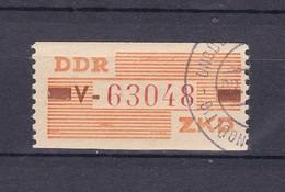 DDR - 1960 - Dienstmarken B - Michel Nr. V V - 20 Euro - Dienstpost