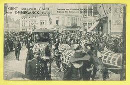 * Gent - Gand (Oost Vlaanderen) * (Berchem - C. Bulcke) Stoet Ommeganck Cortège 1913, Carrosse Des Echevins, Unique, TOP - Gent