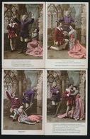 """Opéra - '' Les Huguenots    """" - Série Complète  10 Cartes  3 Scans - Opéra"""