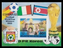 1982Korea, North2271/B123b1982 World Championship On Football Of Spain13,00 € - 1982 – Espagne