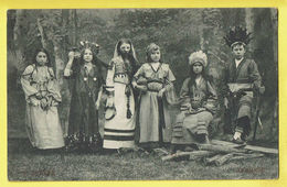 * Gent - Gand (Oost Vlaanderen) * (M. Marcovici, Nr 6) Cortège Enfants, Stoet 30 Juni 1912, Costumes Afrique, Indian - Gent