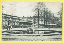 * Gent - Gand (Oost Vlaanderen) * (M. Marcovici) La Gare, Railway Station, Bahnhof, Statie, Animée, Carrosse Cheval - Gent