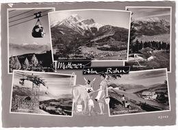 Mutterer-Alm Bahn - Geg. Olperer, Mutters, Nockspitze, Bergstation, Mittelstation, Nockhof (1963) - Mutters