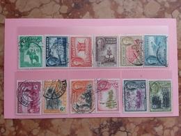 EX COLONIE INGLESI 1948 - COSTA D'ORO - Nn. 135/46 Timbrati Serie Completa + Spese Postali - Costa D'Oro (...-1957)
