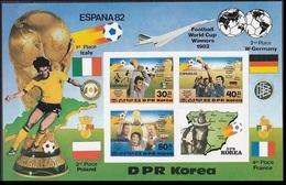 1982Korea, North2272-73/B124b1982 World Championship On Football Of Spain24,00 € - Coupe Du Monde